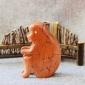 十二生肖立�w拼�D早教益智拼插大�w粒木制手工�生日�Y品猴子玩具